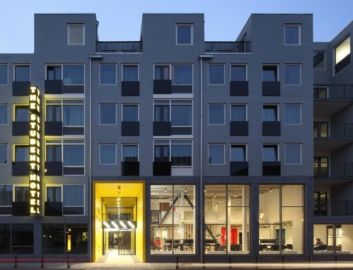 The Student Hotel The Hague gepubliceerd op Archdaily