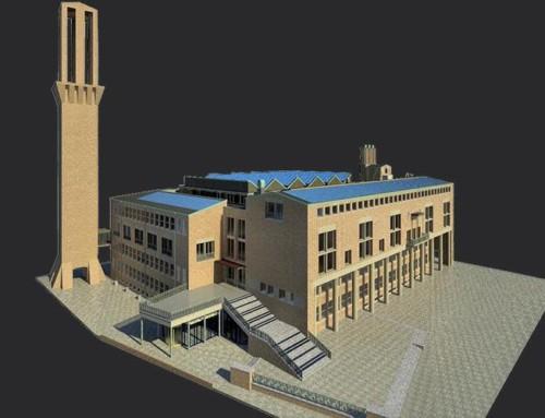 Sloopwerkzaamheden voor renovatie stadhuis Hengelo in volle gang