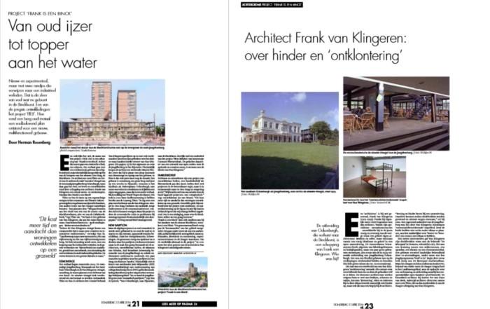 krantenartikel FIEB Den Haag Centraal