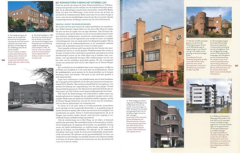 pagina uit boek Nieuwe Haagse School