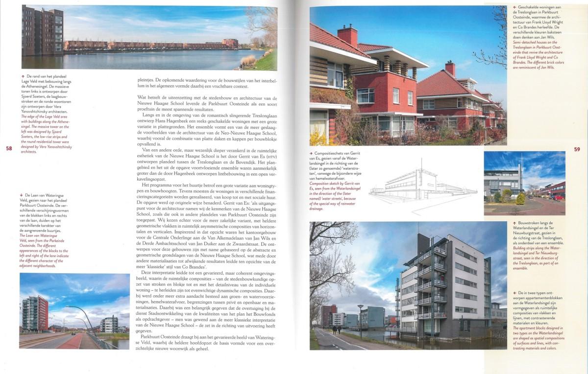 pagina boek Nieuwe Haagse School met HVE projecten