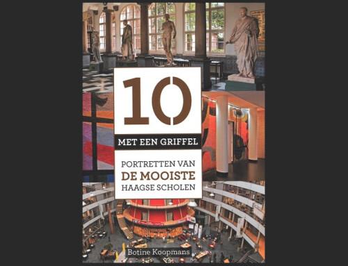 Scholen van HVE Architecten in boek '10 met een griffel'