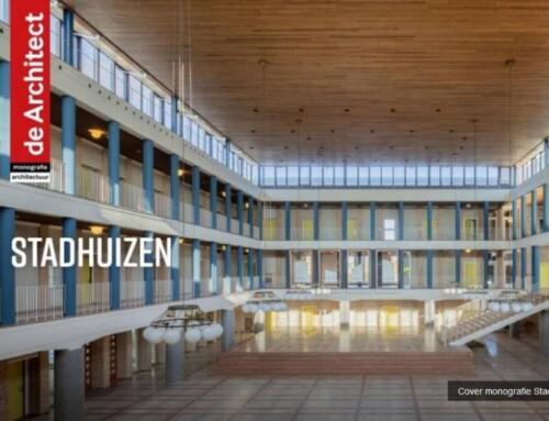 Stadhuis Hengelo op cover Monografie over Stadhuizen